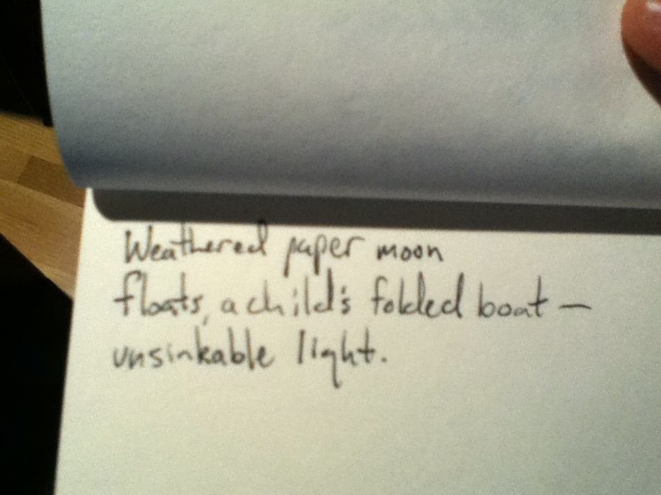A Writer's Notebook: haiku at moonrise (3/6)