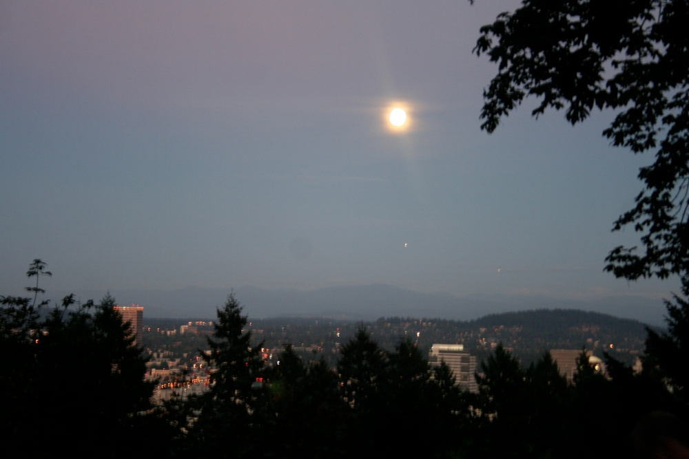 A Writer's Notebook: haiku at moonrise (6/6)