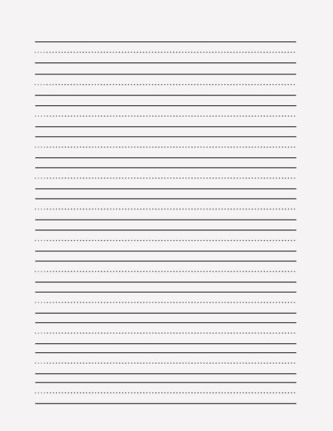 Blank-practice-writing-paper