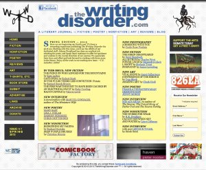 writing disorder cover