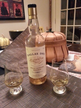 This is the actual single malt my wife and I drank in celebration of the offer from Columbus Press.