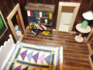 ... the bookshelf ...
