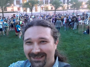 Crowd selfie!