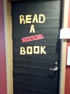Just a reminder from the IUS English club that it's Banned Books Week.