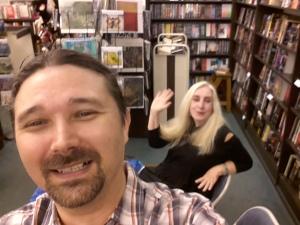 Bonus: Eva selfie!