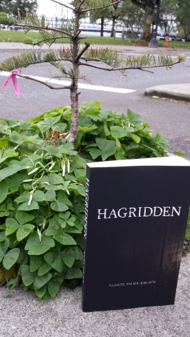 Hagridden in Mill Ends Park, Portland, OR.
