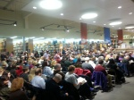 The Powell's in Beaverton, OR, was PACKED for the conversation and reading.