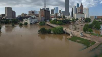 Photo of the Houston area, submitted by local news viewers (retrieved from abc7news.com)