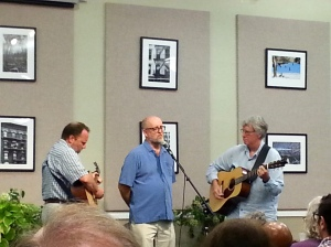 The Franklin County Ramblers: Maurice Manning, Tony Earley, and Steve Yarborough