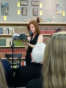 Ellen reads from Landfall.