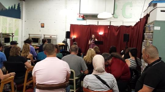 We had a wonderful crowd! (photo by JSB)