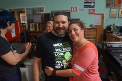 Me with my friend and grief mentor Melissa Dodson (photo by LS)
