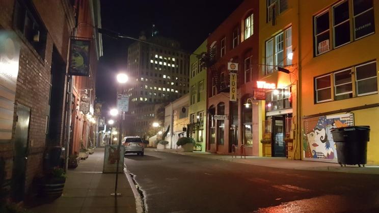 Opera Alley in Tacoma, WA
