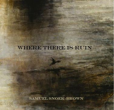 Where There Is Ruin (still available -- buy one from Red Bird Chapbooks!)