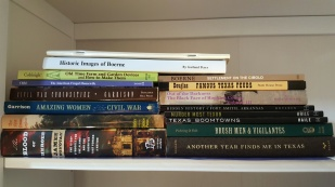 Just some of the books I've been perusing for research lately.