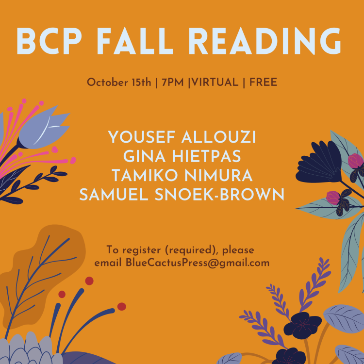BCP Fall Reading